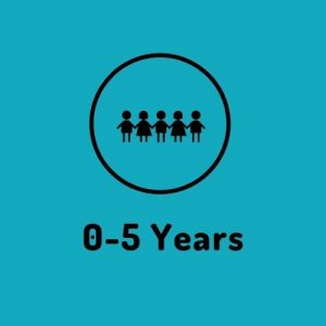 0-5 years button
