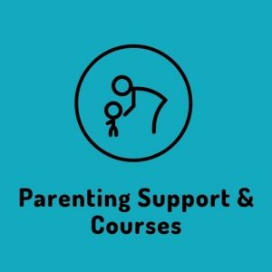 Parenting Support & Courses button